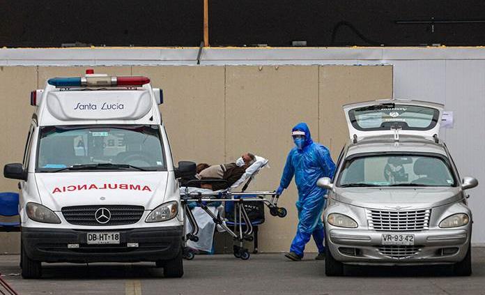 Chile reporta más de 6 mil 700 casos de COVID-19 y 222 fallecidos más