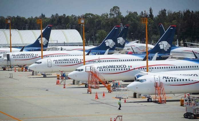 Aeroméxico pierde 27 mil 422 mdp en segundo trimestre por Covid