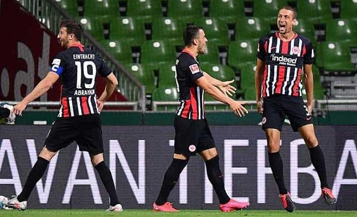 Golea Eintracht Francfurt a un Werder Bremen en problemas