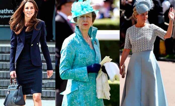 Familia real, ¡impecable en la moda!