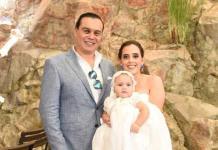 María Paula Zacarías Meade recibió el bautismo