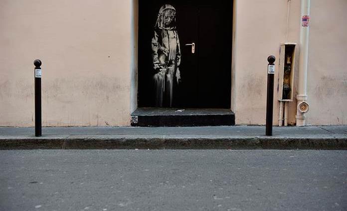 Detienen a seis en relación con el robo del Banksy del Bataclan