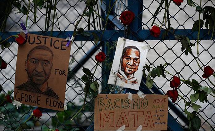 Cuatro expolicías en EEUU se declaran no culpables en caso de George Floyd