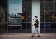 Venta de autos en China sube 14,5% en mayo tras la pandemia