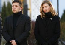 Primera dama ucraniana tiene COVID, el presidente da negativo