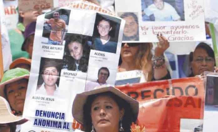 SLP, con 250 personas reportadas como desaparecidas