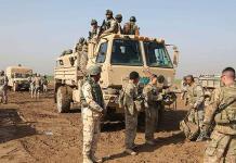 Atacan base militar iraquí