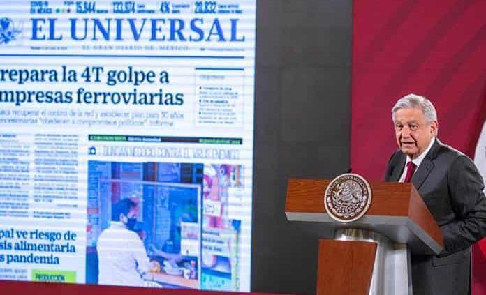 López Obrador dice no a nacionalizar FFCC