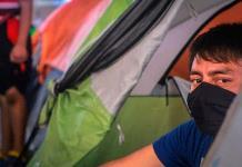 Detectan caso de coronavirus en campamento de migrantes de Matamoros