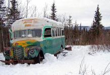 Restauran autobús de Into the Wild para exposición