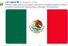 El Leganés envía aliento y fuerza a México