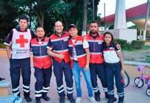 Trabajando, celebran día socorristas de Cruz Roja
