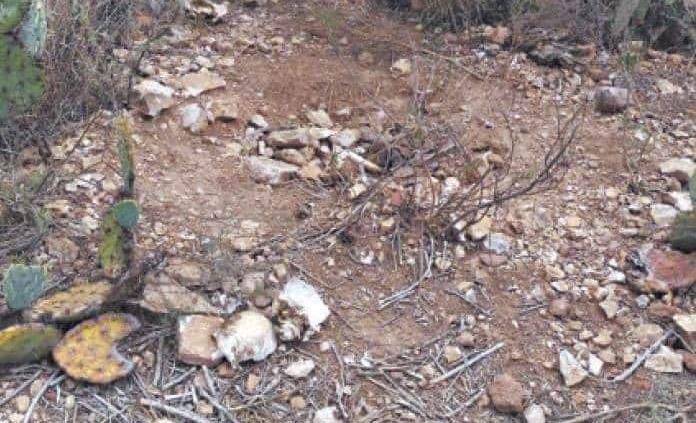 Hallan huesos humanos en Villa de Reyes
