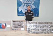 """Policía de Soledad captura a sujeto con marihuana y """"cristal"""""""
