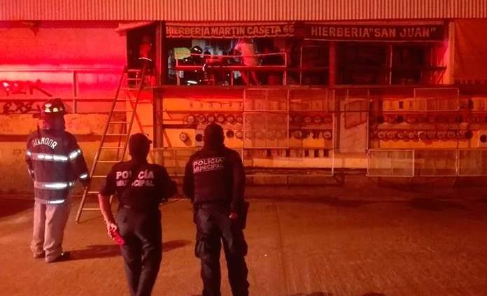 Reportan conato de incendio en el Mercado República
