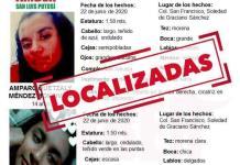 Localizan a hermanas reportadas como desaparecidas