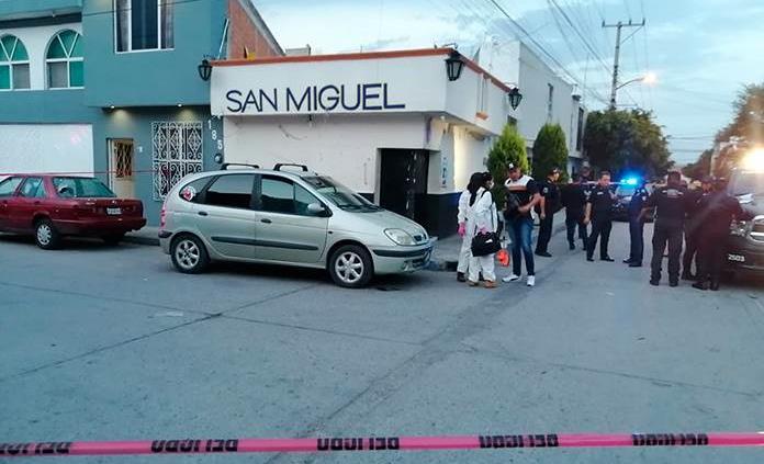 Muere hombre durante ataque a balazos en la colonia Santa Fe