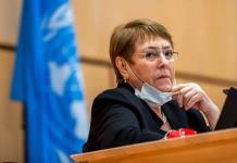 Bachelet llama a seguir aumentando el número de mujeres en la política