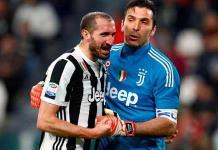 Buffon y Chiellini renuevan con Juve
