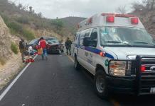 Muere mujer en accidente automovilístico