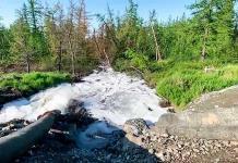 Planta rusa vertió desechos en tundra