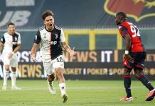 Golazos de Dybala, CR7 y Costa confirma liderato del Juventus