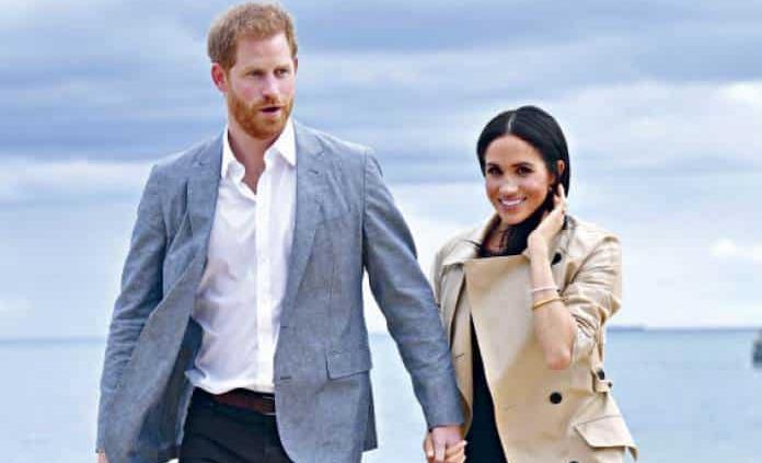 Meghan Markle y el príncipe Harry esperan su segundo hijo