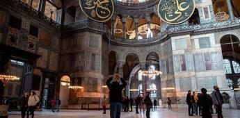 El islamismo turco quiere reconvertir Santa Sofía en una mezquita