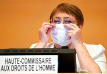 EEUU expresa a Bachelet su preocupación por DDHH en China y Venezuela