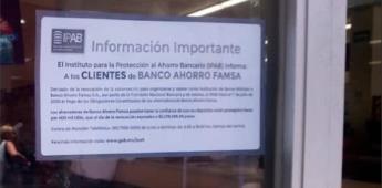Filas y desesperación en bancos Famsa; no hay fechas para recuperar dinero