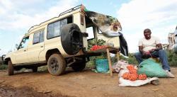 CRÓNICA: Madrugar para vender fruta en lugar de buscar leones
