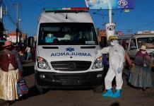 Un militar asume el mando del Ministerio de Salud en Bolivia en medio de contagios en el gabinete