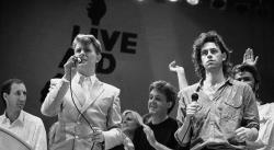 A 35 años del Live Aid, Geldof evalúa el costo personal de convertirse en el Santo Bob