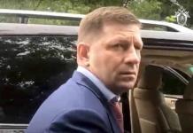 Arrestan a gobernador ruso