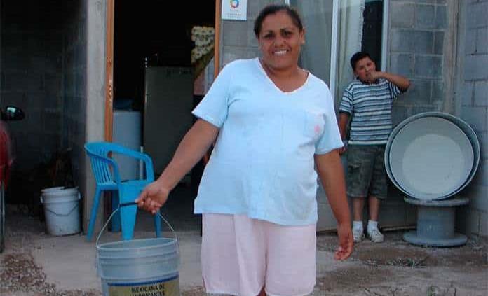 Colonias irregulares piden suministro de agua