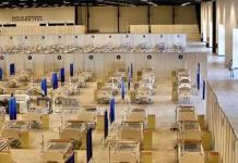 Convierten centro de convenciones de Yucatán en hospital Covid
