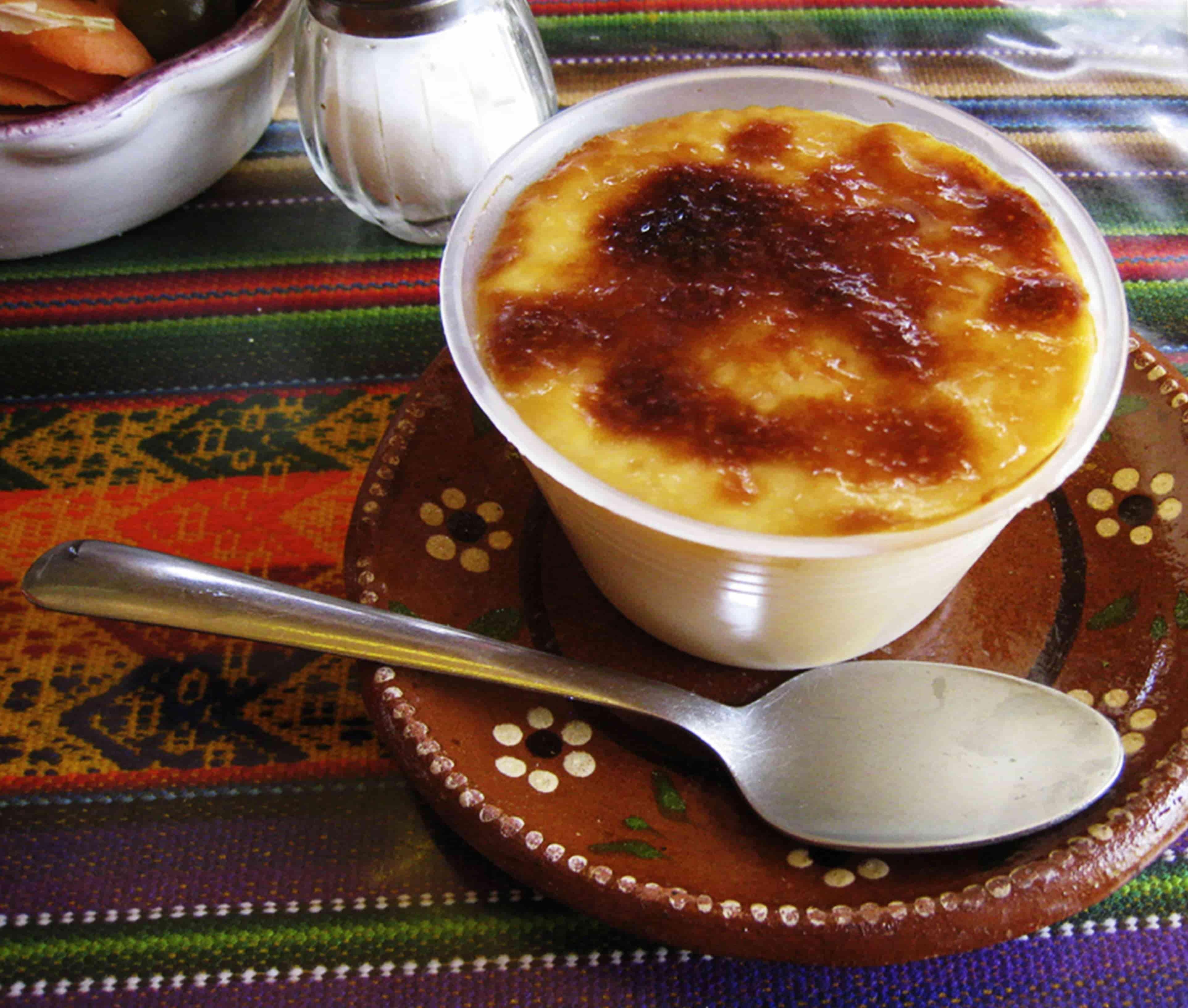 Jericalla, invención de cocina de monjas.