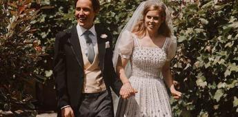 La princesa Beatriz usó un vestido de la reina para su boda