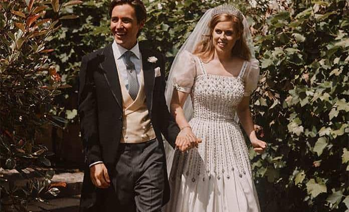 Princesa Beatriz usó vestido de la reina para su boda