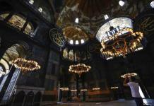 La histórica reconversión de Santa Sofía en mezquita