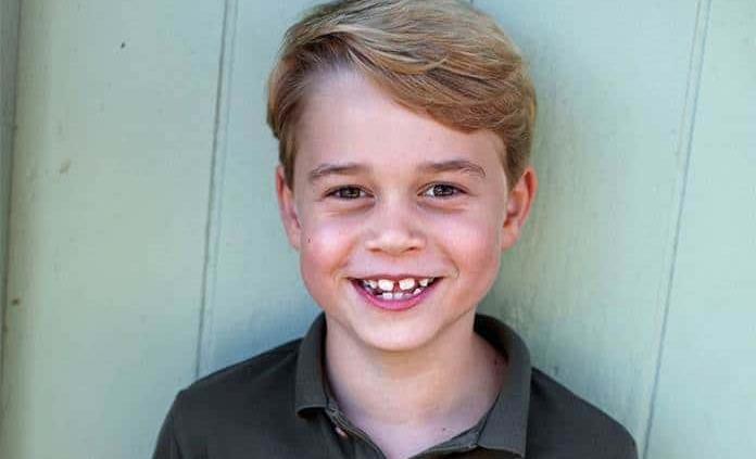 Príncipe Jorge celebra 7 años