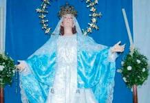 """Hoy, la """"bajada"""" de la patrona de Cedral, Virgen de la Asunción"""
