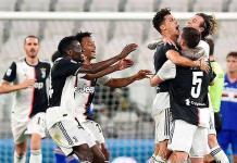 La Juventus vence a la Sampdoria y logra su noveno Scudetto consecutivo