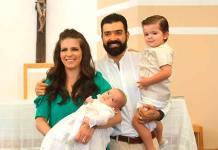 Luca Romo Muñiz es bautizado