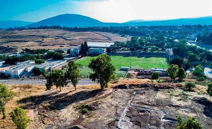 Encuentran iglesia de hace 1,300 años cerca del Monte de la Transfiguración