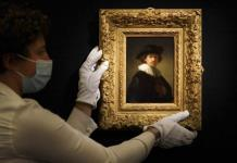 Autorretrato de Rembrandt se vende por 18.7 millones de dólares en Sothebys