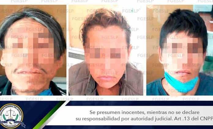 En flagrancia, arrestan a tres presuntos ladrones