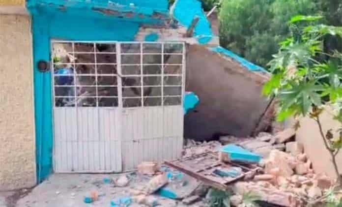 Fallece albañil al derrumbarse vivienda