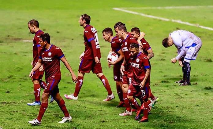 Cruz Azul rescata empate ante Puebla