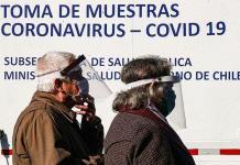 Nuevos casos de COVID-19 en Chile retrocedieron un 2 % en los últimos 7 días